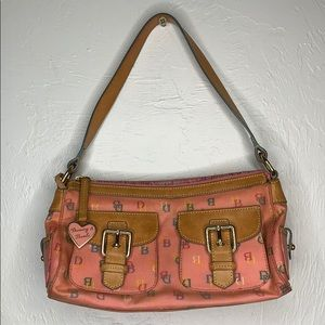 Dooney & Bourke coated shoulder bag